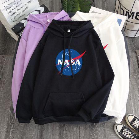 Moletom Hoodie NASA - Várias Cores