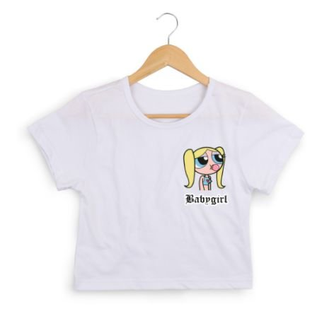 Cropped BABYGIRL (MENINAS SUPER-PODEROSAS)