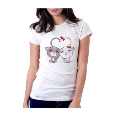 Camiseta GATINHOS APAIXONADOS