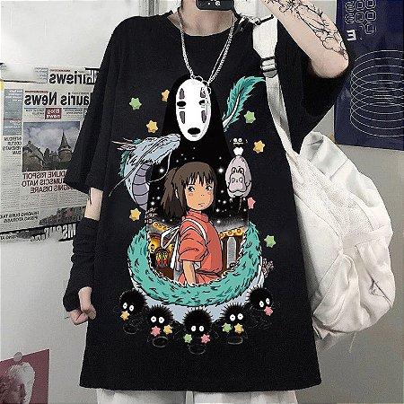 Camiseta A VIAGEM DE CHIHIRO - Duas Cores