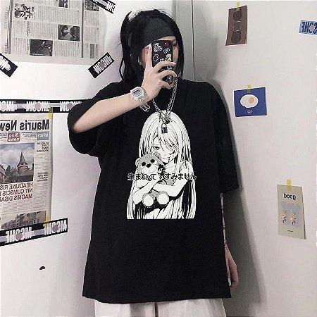 Camiseta PSYCHO GIRL - Várias Cores