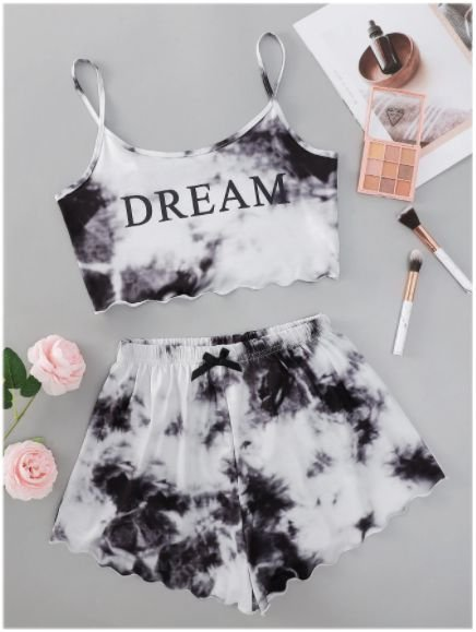 Conjunto Cropped & Short TIE DYE DREAM