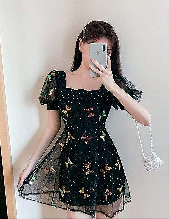 Vestido Vintage BORBOLETAS