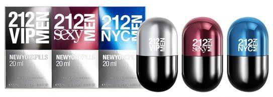 7239df69c Kit Carolina Herrera 212 Pills Masculino - Pedidos Gym Imports