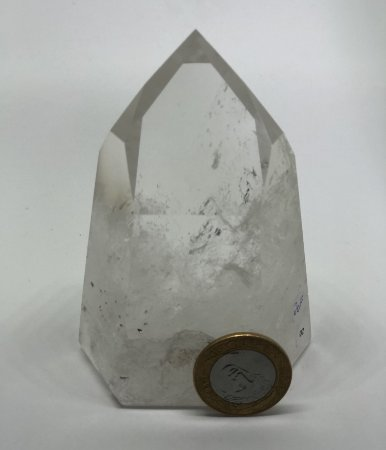 Ponta de Cristal Quartzo - 420g