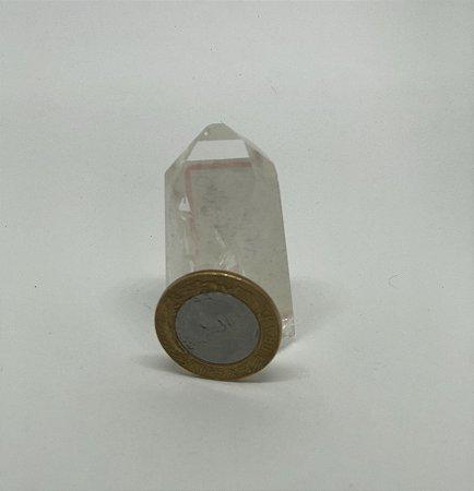 Ponta de Cristal Quartzo - 50g