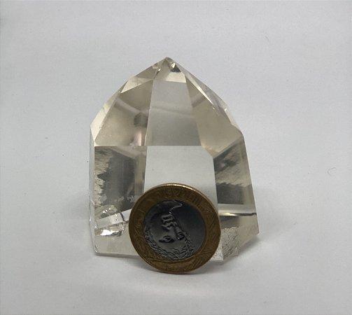 Ponta de Cristal Quartzo - 145g