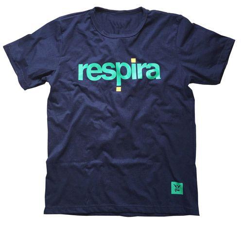 Camiseta Respira - Edição Copa do Mundo - Brasil Masc