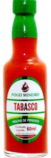 Pimenta Tabasco - Molho 60ml