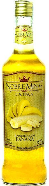 Cachaça de Banana - Nobre Minas 670ml