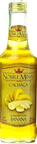 Cachaça de Banana - Nobre Minas 275ml