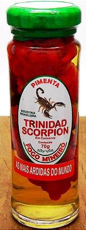 Pimenta Trinidad Scorpion - Conserva 200g