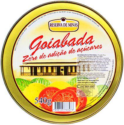 Goiabada Cremosa 0% Açúcar Lata 500g