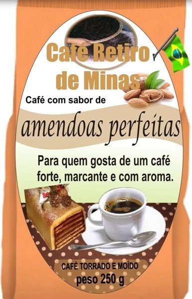 Café Aromatizado - Amêndoas