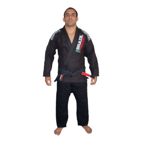 Kimono Brazil Combat Xtra-Lite Preto