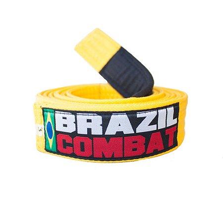 Faixa Jiu-jitsu Amarela Brazil Combat