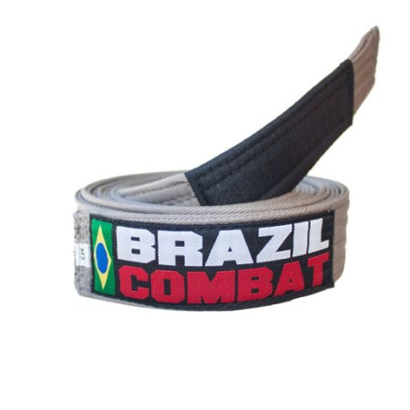 Faixa Jiu-Jitsu Cinza Brazil Combat
