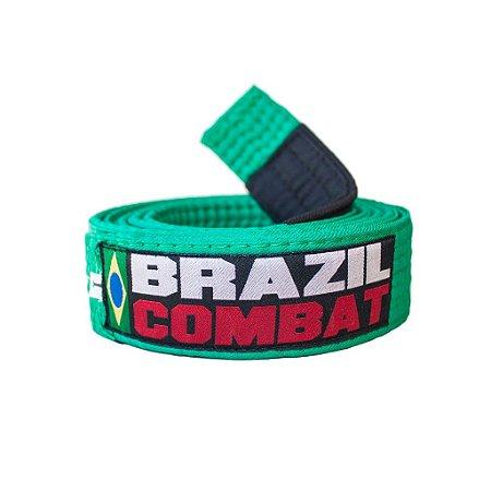 Faixa Jiu-Jitsu Brazil Combat Verde