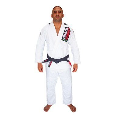 Kimono Jiu-JItsu Xtra-Lite Branco Brazil Combat