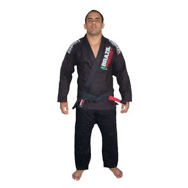 Kimono Jiu-Jitsu Brazil Combat Xtra-Lite Preto