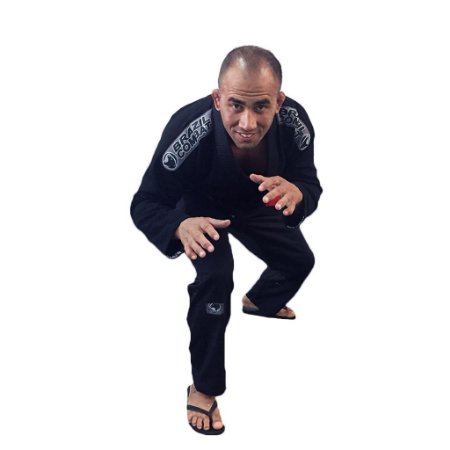 Kimono Jiu-Jitsu Elite Preto Brazil Combat