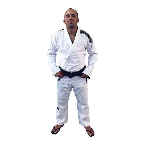 Kimono Jiu-Jitsu Elite Branco Brazil Combat