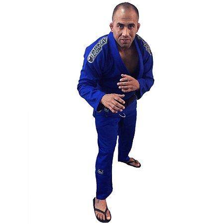 Kimono Jiu-Jitsu Elite Azul Brazil Combat