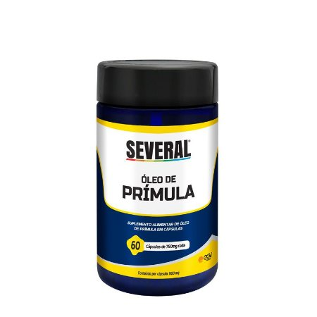 Óleo de Prímula 500mg Several® - 60 cápsulas