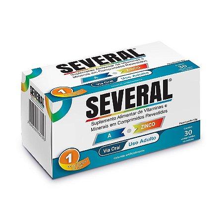 Suplemento Vitamínico e Mineral A a Z Several® - 30 comprimidos revestidos