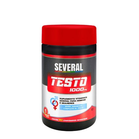 Testo 1.000mg Several® - 60 comprimidos revestidos