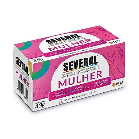 Suplemento Vitamínico e Mineral Mulher Several® - 60 comprimidos revestidos