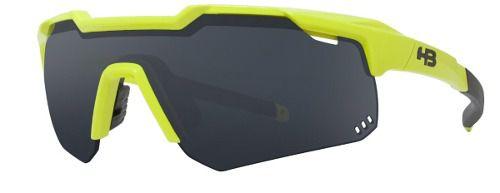 Óculos HB Shield Road Neon Yellow/Gray