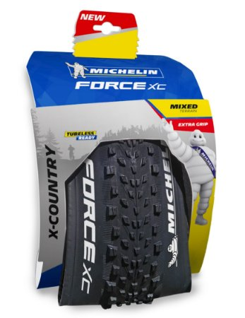 "Pneu Michelin 29"" X 2.10 Force XC Competition 3 X 110TPI TR Kevlar"