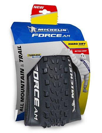 "Pneu Michelin 29"" X 2.35 Force AM Competition 3 X 60TPI TR Kevlar"