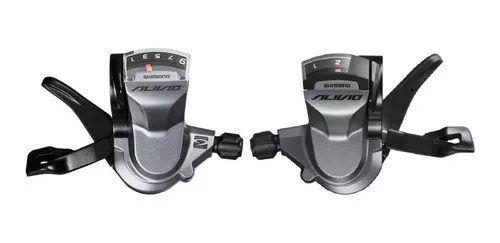 Alavanca de câmbio Shimano Alivio M4010 2 x 9 18 Velocidades