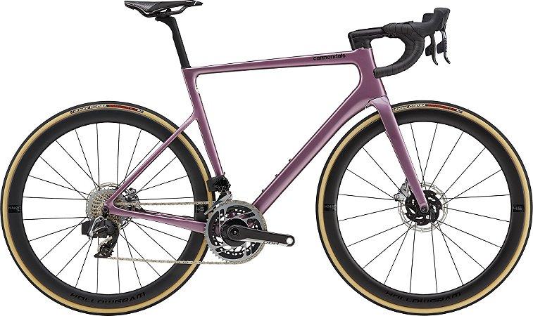 Bicicleta Cannondale SuperSix EVO Hi-MOD Disc Red e Tap AXS