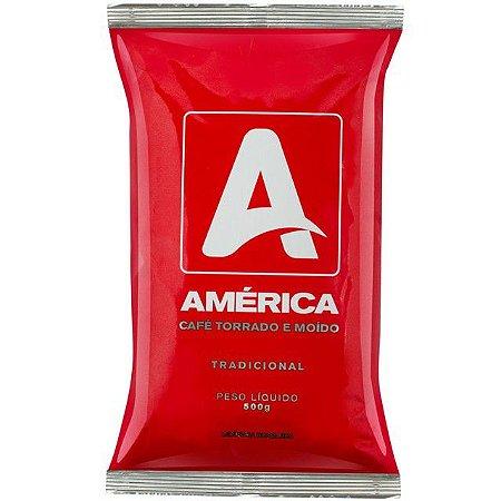 Café América almofada moido 500 grs
