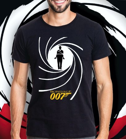 Camiseta James 'Bondage'