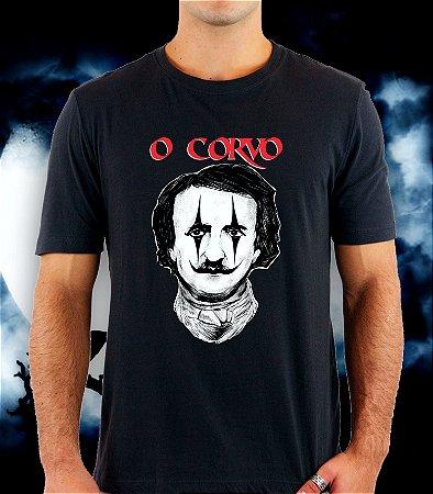 Camiseta O Corvo (Edgar Allan Poe)