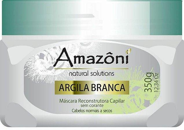 MÁSCARA RECONSTRUTORA AMAZONI ARGILA BRANCA 350 GR