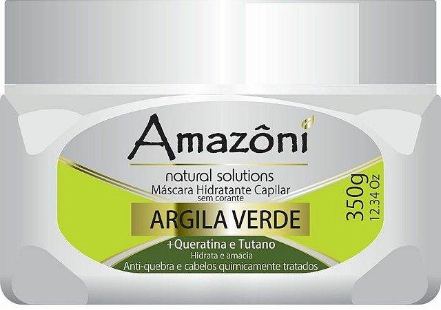 MÁSCARA RECONSTRUTORA AMAZONI ARGILA VERDE 350 GR