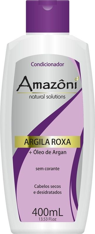 CONDICIONADOR AMAZONI ARGILA ROXA 400 ML