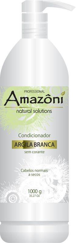 CONDICIONADOR AMAZONI ARGILA BRANCA 1 LITRO