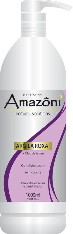 CONDICIONADOR AMAZONI ARGILA ROXA 1 LITRO