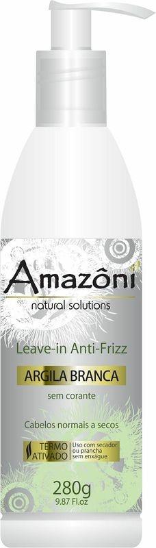 LEAVE IN AMAZONI ARGILA BRANCA 280 GR