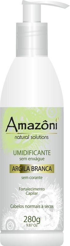 UMIDIFICANTE AMAZONI ARGILA BRANCA 280 GR