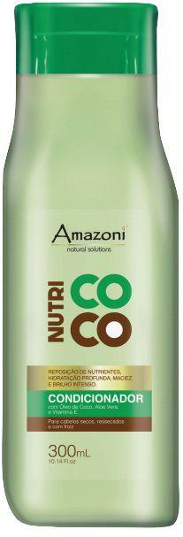 CONDICIONADOR AMAZONÍ NUTRI COCO 300 ML