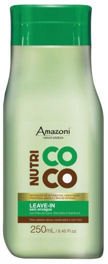 LEAVE IN AMAZONÍ SEM ENXAGUE NUTRI COCO 250 ML