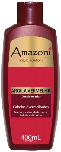 CONDICIONADOR AMAZONI ARGILA VERMELHA 400 ML