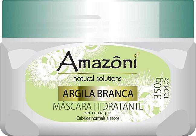 MÁSCARA HIDRATANTE AMAZONI ARGILA BR SEM ENXAGUE 350 GR